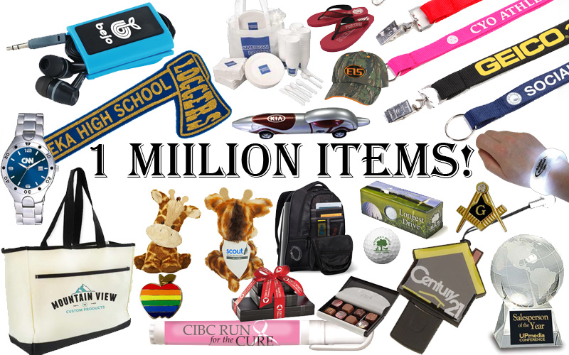 1 Million Promotional Items!!!