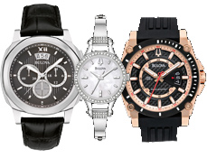 Bulova Watches and Clocks