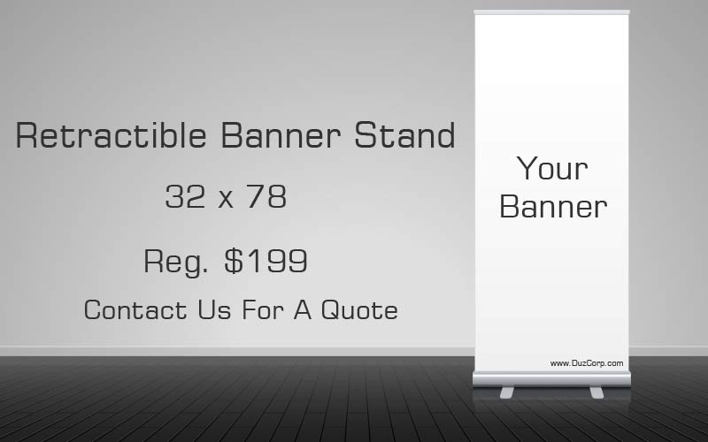 Retractable Banner System