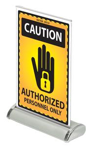 Desktop Mini Banner Stand