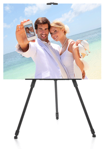Adjustable Black Easel
