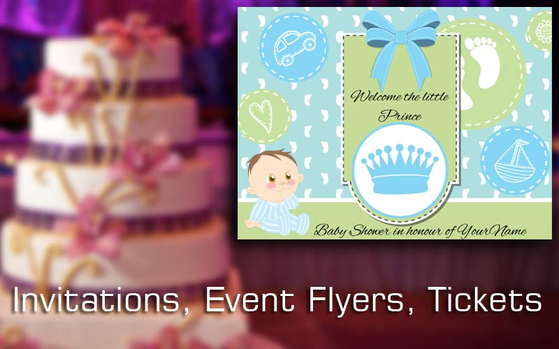 Invites, Flyers, Post Cards